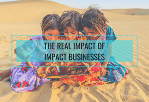 How do you measure the impact of impact businesses on people, planet and profit?